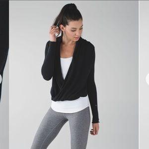 Lululemon Iconic Wrap Heathered Black Cashmere